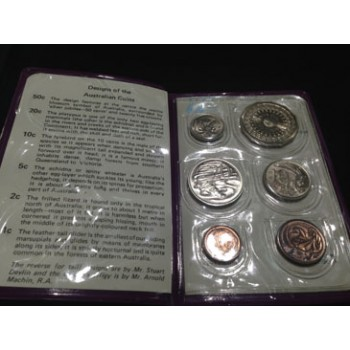 1977 AUSTRALIAN 6-COIN UNCIRCULATED SET