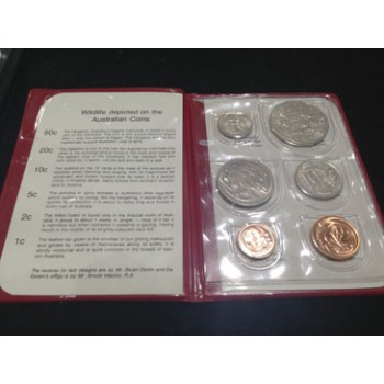1980 AUSTRALIAN 6-COIN UNCIRCULATED SET
