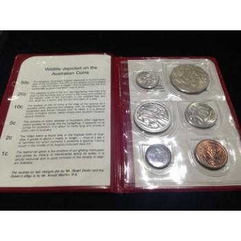 1981 AUSTRALIAN 6-COIN UNCIRCULATED SET