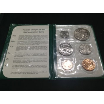 1982 AUSTRALIAN 6-COIN UNCIRCULATED SET