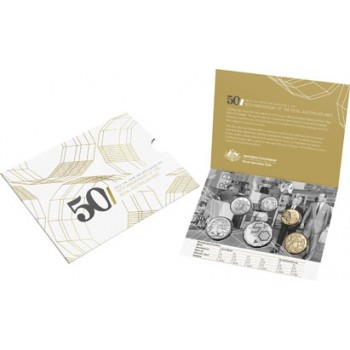 2015 Australian 6-Coin Uncirculated Set - 50 Years of the Royal Australian Mint