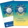 2021 Merry Christmas 50c Uncirculated Coin