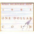 1993 Australian $1 Uncirculated M-Mint Mark Coin - Water is Life Landcare
