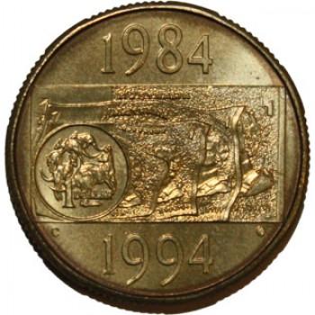 1994 Australian 1 Uncirculated C Mint Mark Coin Decade