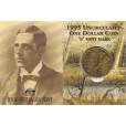 1995 Australian Waltzing Matilda $1 Uncirculated Coin - B Mint Mark