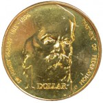 1996 Australian Sir Henry Parkes $1 Uncirculated Coin - B Mint Mark