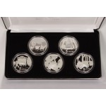 1997 Australian Masterpieces in Silver 5-Coin Set