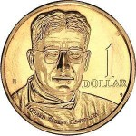 1998 Australian Howard Florey $1 Uncirculated Coin - B Mint Mark