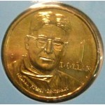 1998 Australian Howard Florey $1 Uncirculated Coin - C Mint Mark