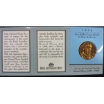1998 Australian Howard Florey $1 Uncirculated Coin - M Mint Mark