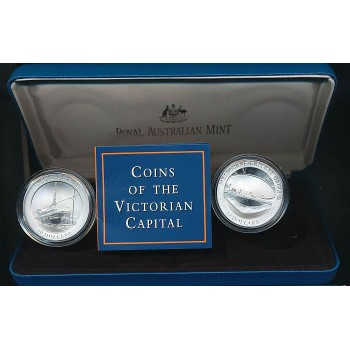 1998 AUSTRALIAN LAND MARK SERIES 2 COIN SET - VICTORIA