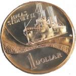 2000 Australian HMAS Sydney II $1 Coin - S Mint Mark