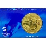 2000 Sydney Olympic $5 Unciruclated Coin - Athletics