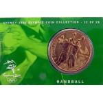2000 Sydney Olympic $5 Unciruclated Coin - Handball