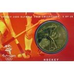 2000 Sydney Olympic $5 Unciruclated Coin - Hockey
