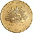 2001 Australian 100 Years of Army $1 Uncirculated Coin - C Mint Mark