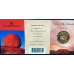 2002 Australian Year of the Outback $1 Uncirculated Coin - B Mint Mark