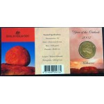2002 Australian Year of the Outback $1 Uncirculated Coin - M Mint Mark
