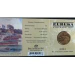 2004 Australian Eureka Stockade $1 Uncirculated Coin - M Mint Mark