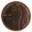 2005 Australian Gallipoli $1 Uncirculated Coin - C Mint Mark