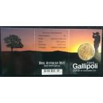 2005 Australian Gallipoli $1 Uncirculated Coin - B Mint Mark