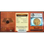 2006 Australian 50 Year of TV $1 Uncirculated Coin - S Mint Mark