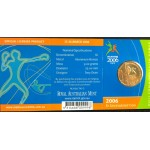 2006 Australian Commonwealth Games $1 Uncirculated Coin - M Mint Mark