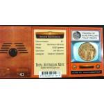2006 Australian 50 Year of TV $1 Uncirculated Coin - M Mint Mark