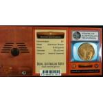 2006 Australian 50 Year of TV $1 Uncirculated Coin - TV Mint Mark