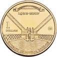 2007 Australian 75th Anniversary of the Harbour Bridge $1 Uncirculated Coin - M Mint Mark