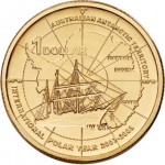 2007 Australian $1 Uncirculated Coin - International Polar Year