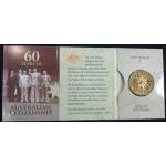 2009 60 Years fo Australian Citizenship $1 Uncirculated Coin - S Mint Mark