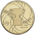 2012 $1 Official Australian Open Men's Trophy Uncirculated Coin