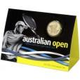 2012 $1 Official Australian Open Men's Trophy Uncirculated Coin