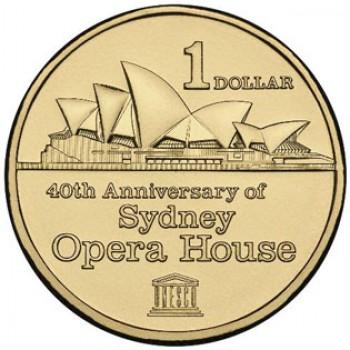 2013 Australia $1 AlBr 40th Anniversary of Sydney Opera House