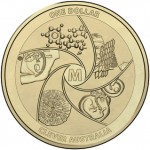 2014 $1 Australian Medi-mazing Uncirculated Coin