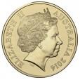 2014 $1 Australian Medi-mazing Uncirculated Coin