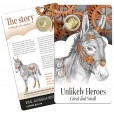 2015 $1 RAM Unlikely Heroes Uncirculated Coin - Murphy the Donkey Coin