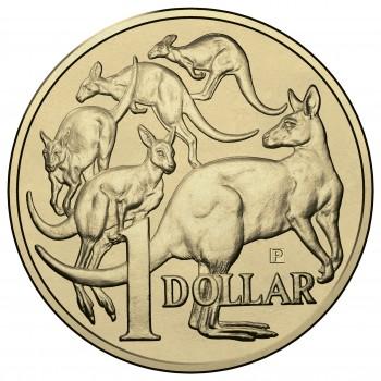 "2015 $1 Royal Australian Mint ""P"" Mint Mark ANDA SHOW Coin Release"