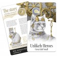 2015 $1 RAM Unlikely Heroes Uncirculated Coin - Feline Mascot