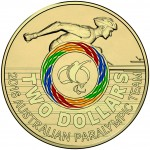 2016 $2 Paralympic Coloured Coin