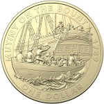 2019 $1 Australian Mutiny and Rebellion - The Bounty Uncirculated Coin