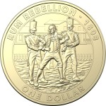 2019 $1 Australian Mutiny and Rebellion - The Rum Rebellion Uncirculated Coin