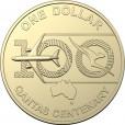 2020 $1 Qantas 100 years Mint Roll