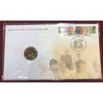 1999 Year of the Older Person First Day Coin and Stamp Cover