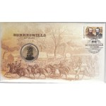 2010 AUSTRALIAN 150 YEARS OF BURKE AND WILLS FIRST DAY COIN AND STAMP COVER