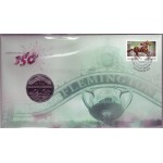 2010 AUSTRALIAN 150th ANNIVERSARY OF MELBOURNE CUP FIRST DAY COIN AND STAMP COVER