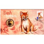 2011 AUSTRALIAN BUSH BABIES FIRST DAY COIN AND STAMP COVER - DINGO