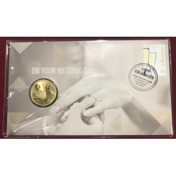 2016 Wedding First Day Coin and Stamp Cover
