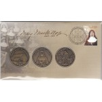 2010 MARY MACKILLOP FIRST DAY MEDALLION AND STAMP SET